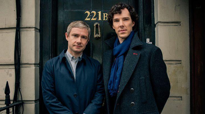 Martin Freeman y Benedict Cumberbatch en 'Sherlock'