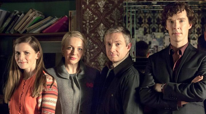 Reparto de 'Sherlock'