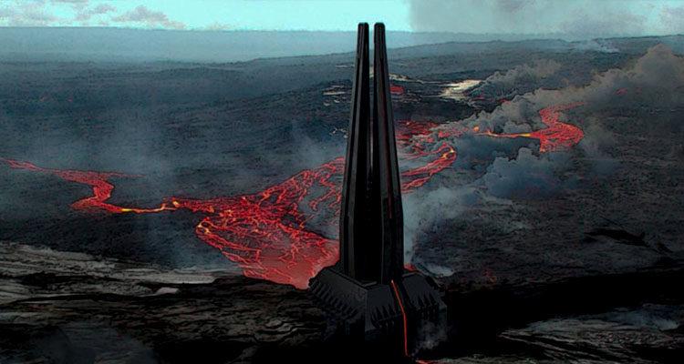Castillo de Darth Vader en 'Rogue One'