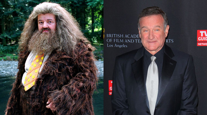 ¿Hagrid interpretado por Robin Williams?