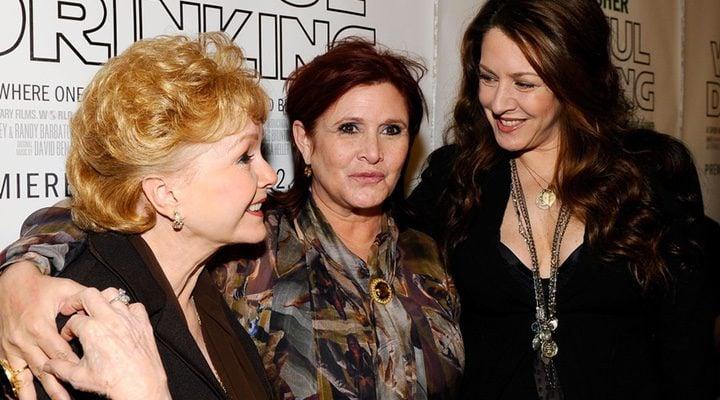 Debbie Reynolds, Carrie Fisher y Joely Fisher