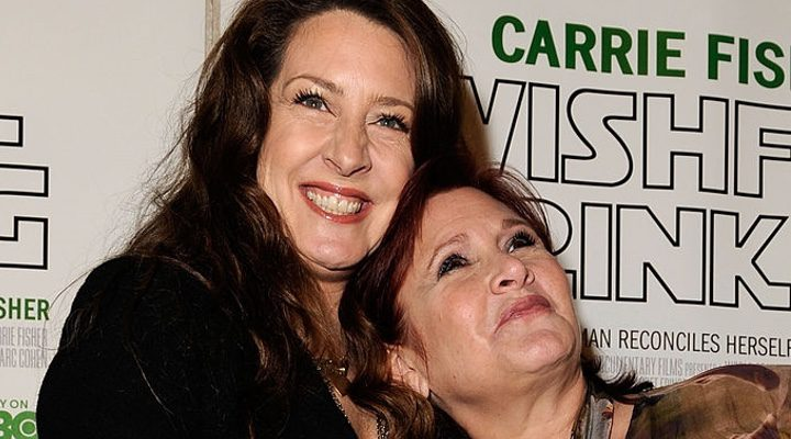 Carrie Fisher y Joely Fisher