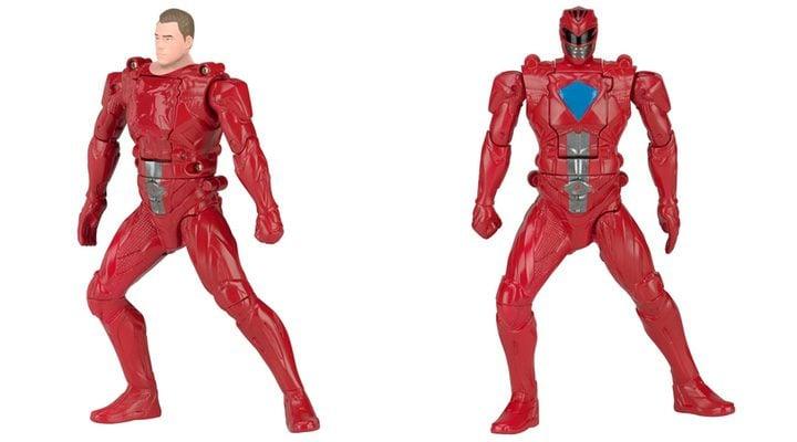 Figura acción Power Ranger Rojo