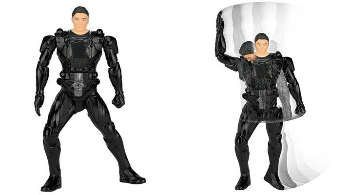 Figura acción Power Ranger Negro