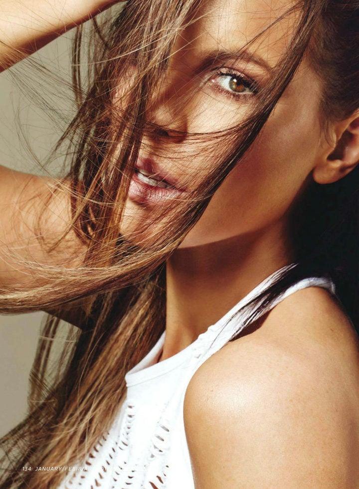 Kate Beckinsale en Shape Magazine