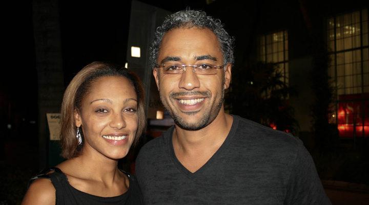 Sylvain White junto Meena Payne