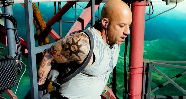 Vin Diesel en 'XXX: Reactivated'