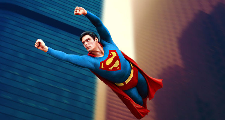 Christopher Reeves como Superman