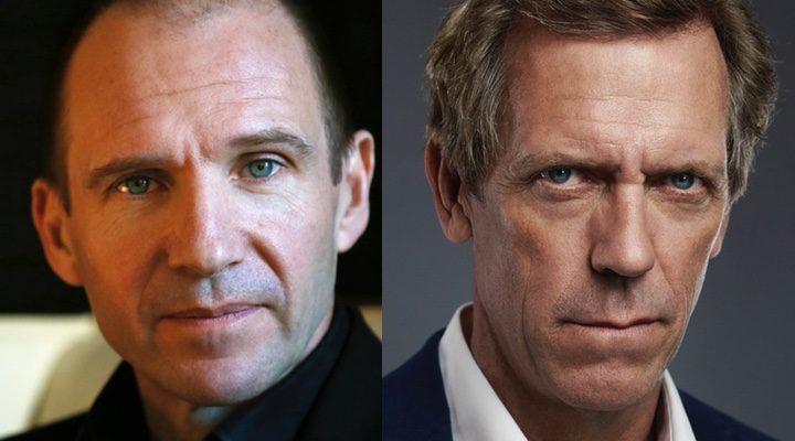 Ralph Fiennes y Hugh Laurie
