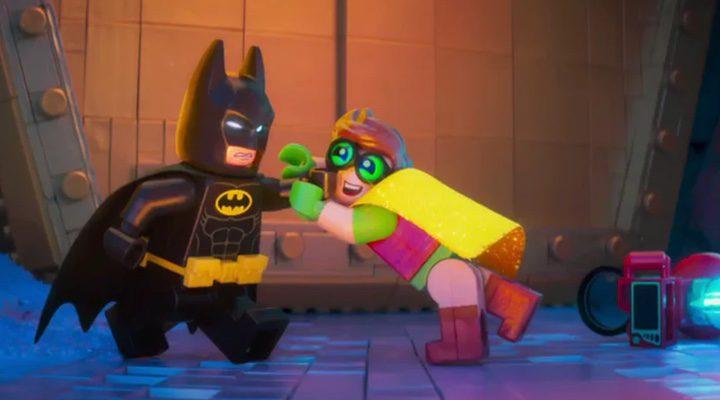 Lego Batman junto a Robin en 'Batman: La LEGO película'