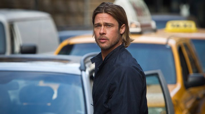 Brad Pitt en 'Guerra Mundial Z'