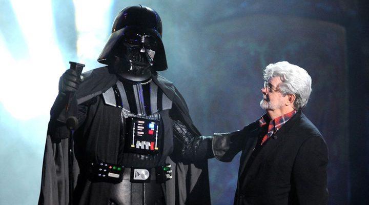 George Lucas y Darth Vader