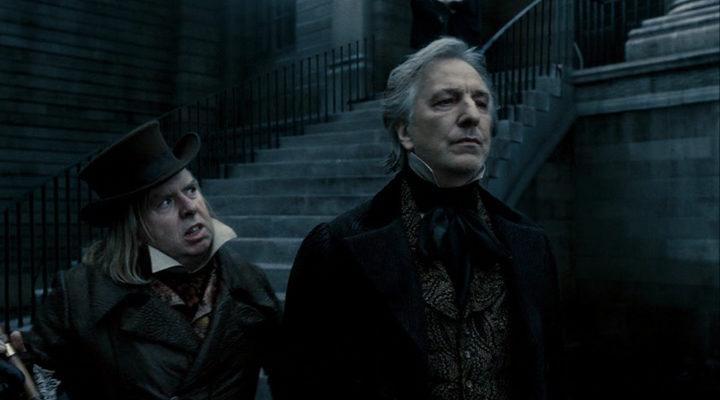 Alan Rickman como el Juez Tupin en 'Sweeney Todd'