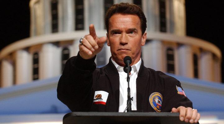 Arnold Schwarzenegger como Gobernador de California