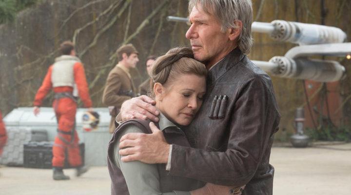 Leia en el Episodio VII de 'Star Wars'