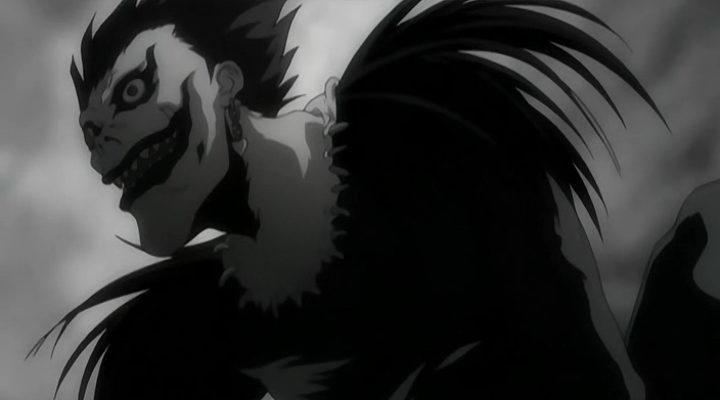 Ryuk en el anime 'Death Note'
