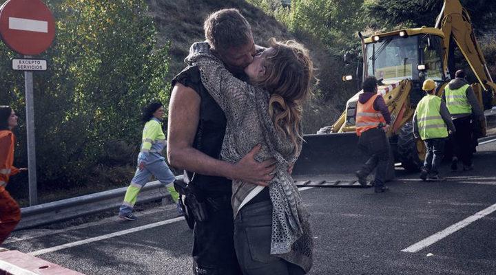 Raul Cimas y Natalia de Molina en 'Los del túnel'