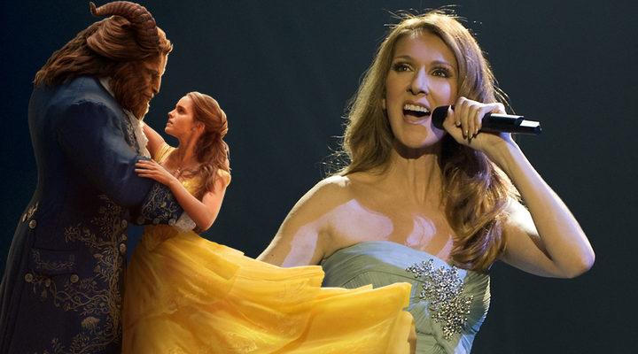 Celine Dion y La Bella y la Bestia