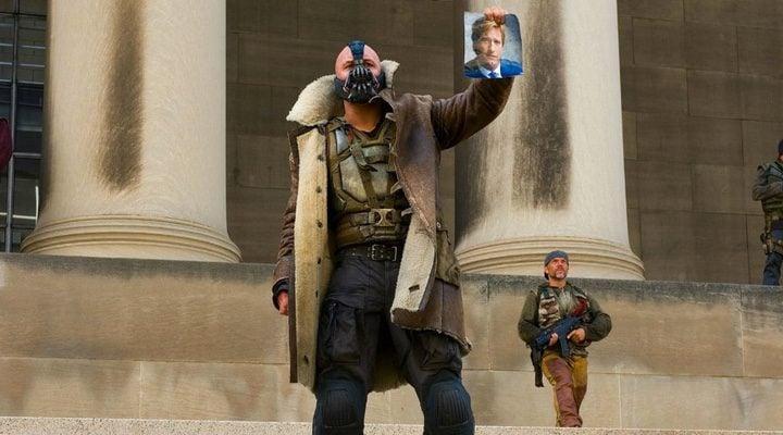 Tom Hardy en 'El caballero oscuro: La leyenda renace'