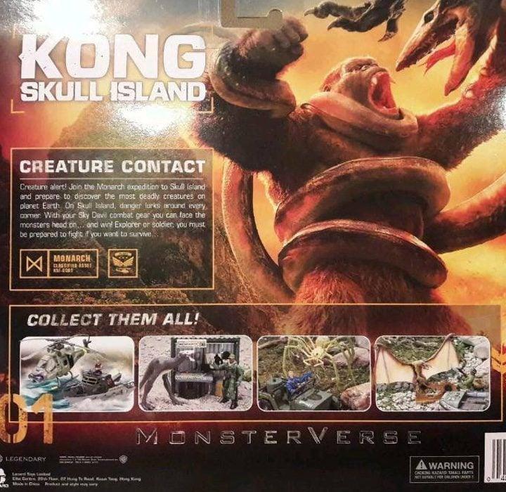 Merchandising de 'Kong: La Isla Calavera'