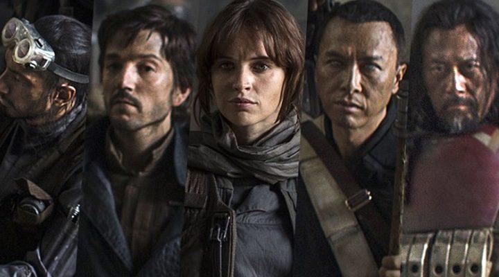 Los protagonistas de 'Rogue One una historia de 'Star Wars'