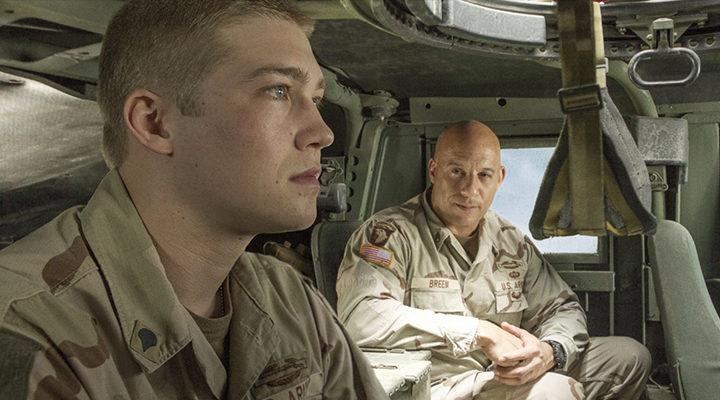 Joe Alwyn y Vin Diesel en 'Billy Lynn'