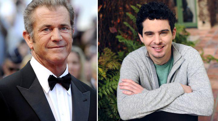 Mel Gibson y Damien Chazelle