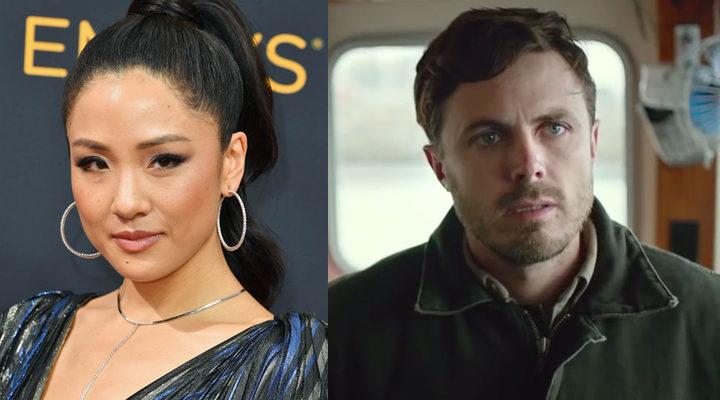 Constance Wu y Casey Affleck
