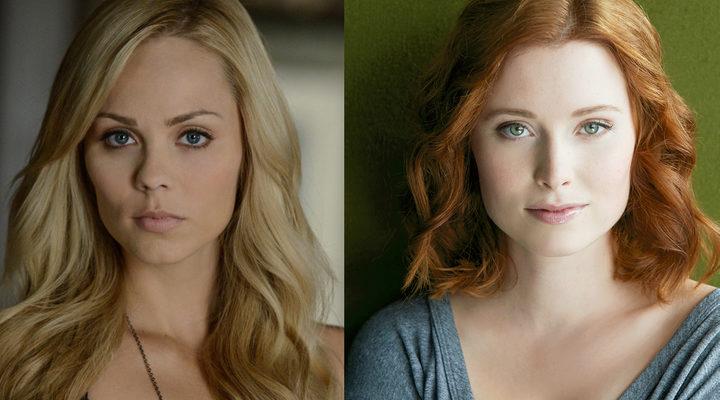 'Laura Vandervoot' y 'Hannah Anderson'