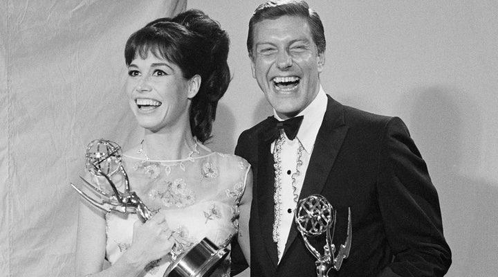 Mary Tyler Moore y Dick Van Dyke