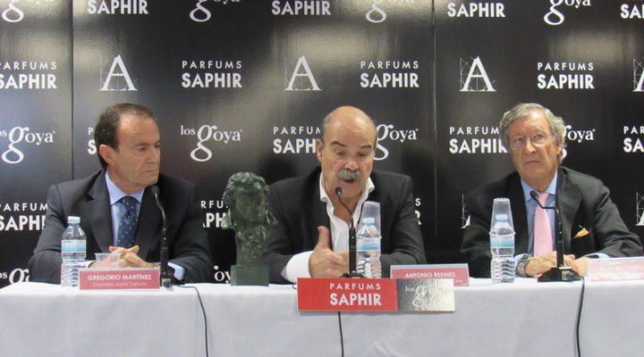 Antonio Resines con promoción de Saphir