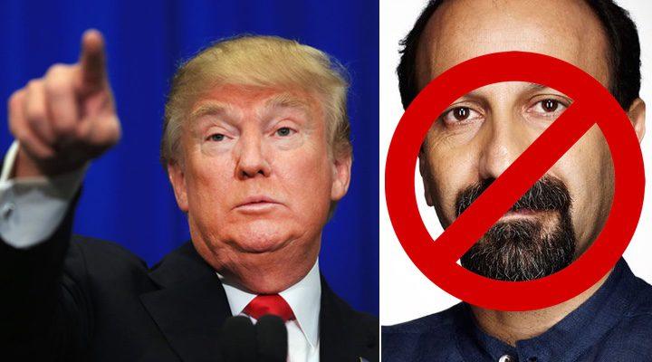 Trump y Asghar Farhadi