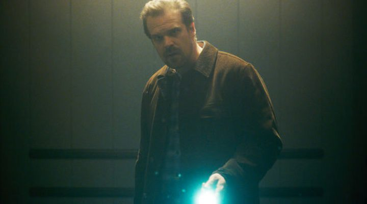 David Harbour como su personaje de 'Stranger Things'