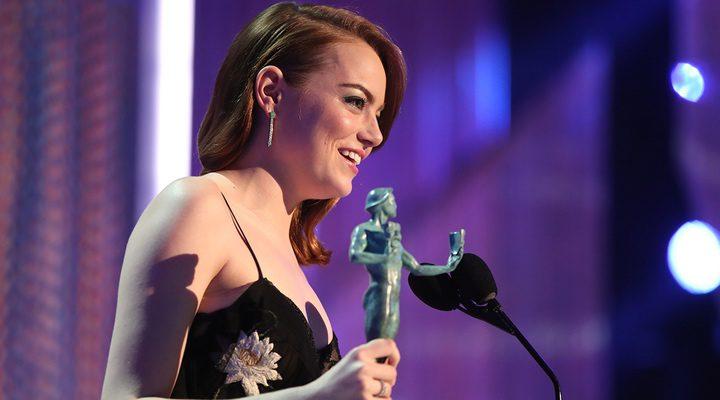 Emma Stone en los SAG 2017