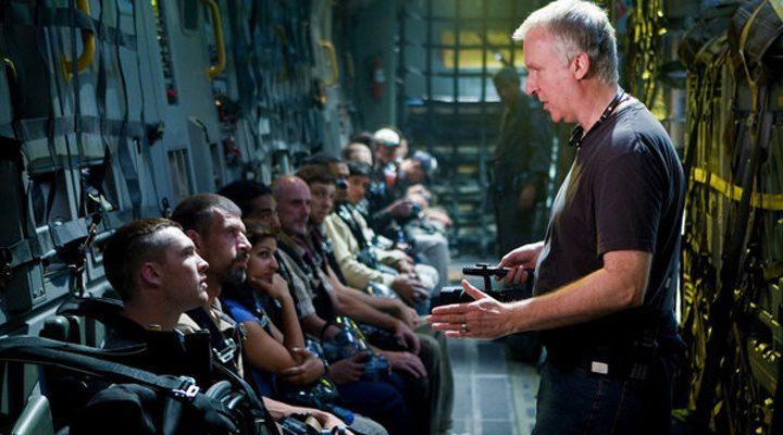 James Cameron dirigiendo 'Avatar'