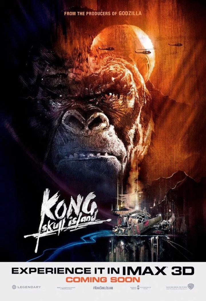 Póster de 'Kong: La Isla Calavera'