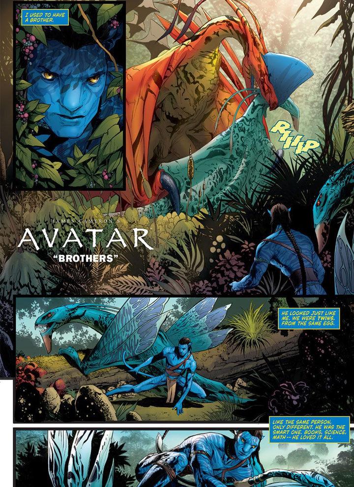 'Avatar cómics 2'
