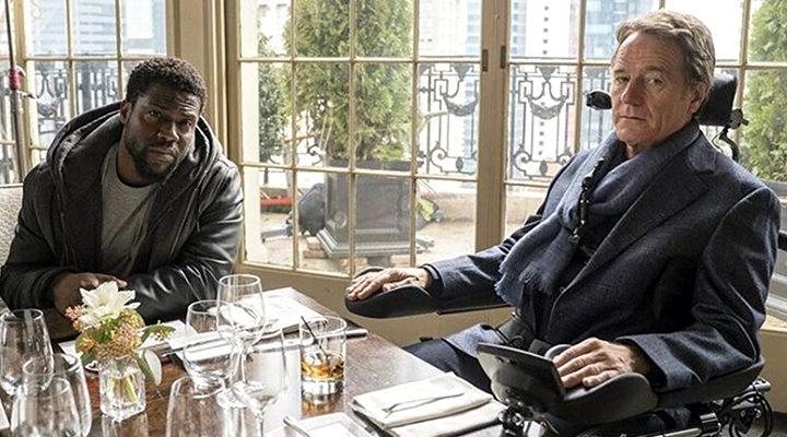 Kevin Hart y Bryan Cranston en el remake de 'Intocable'
