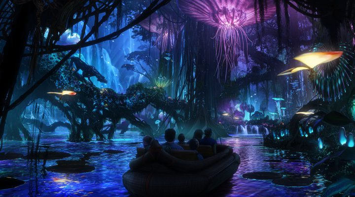 Parque temático de 'Avatar'