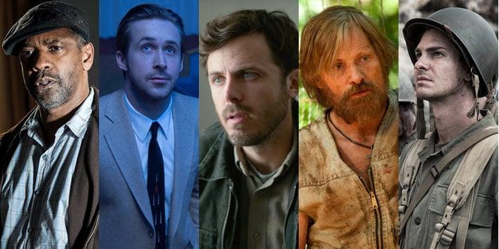 Nominados a los Oscar 2017 a mejor actor