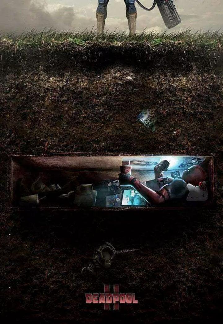 Deadpool enterrado