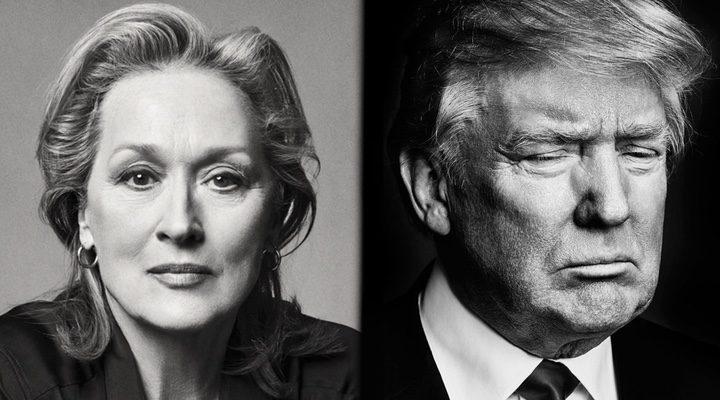 Viola Davis y Donald Trump