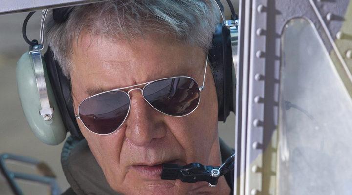 'Harrison Ford en Los mercenarios 3'