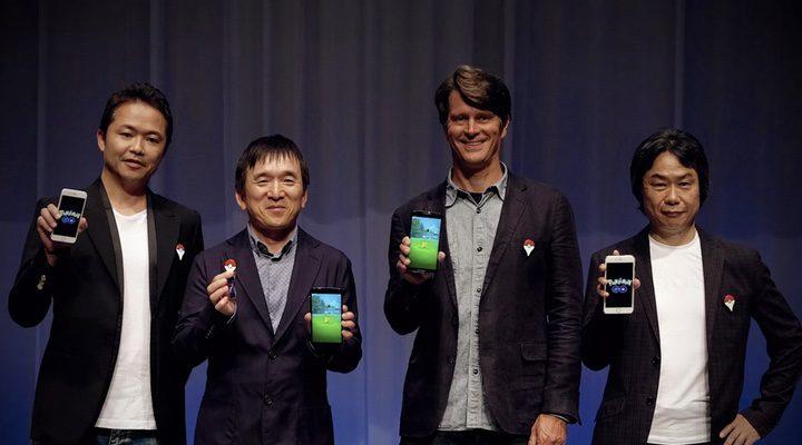 John Hanke y los creadores de Pokémon