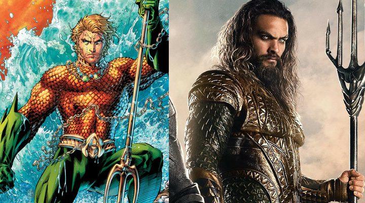 Jason Momoa y Aquaman