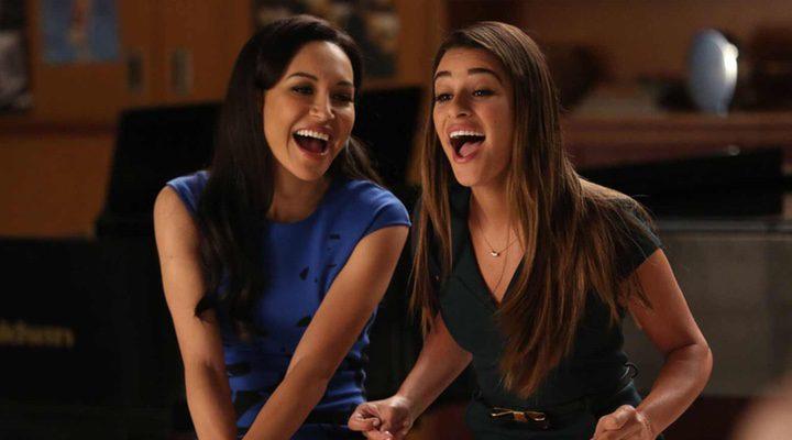 Lea Michele y Naya Rivera