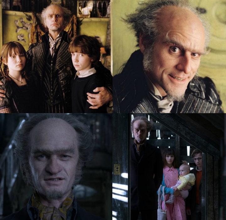 'Una serie de catastróficas desdichas de Lemony Snicket' y 'Una serie de catastróficas desdichas'