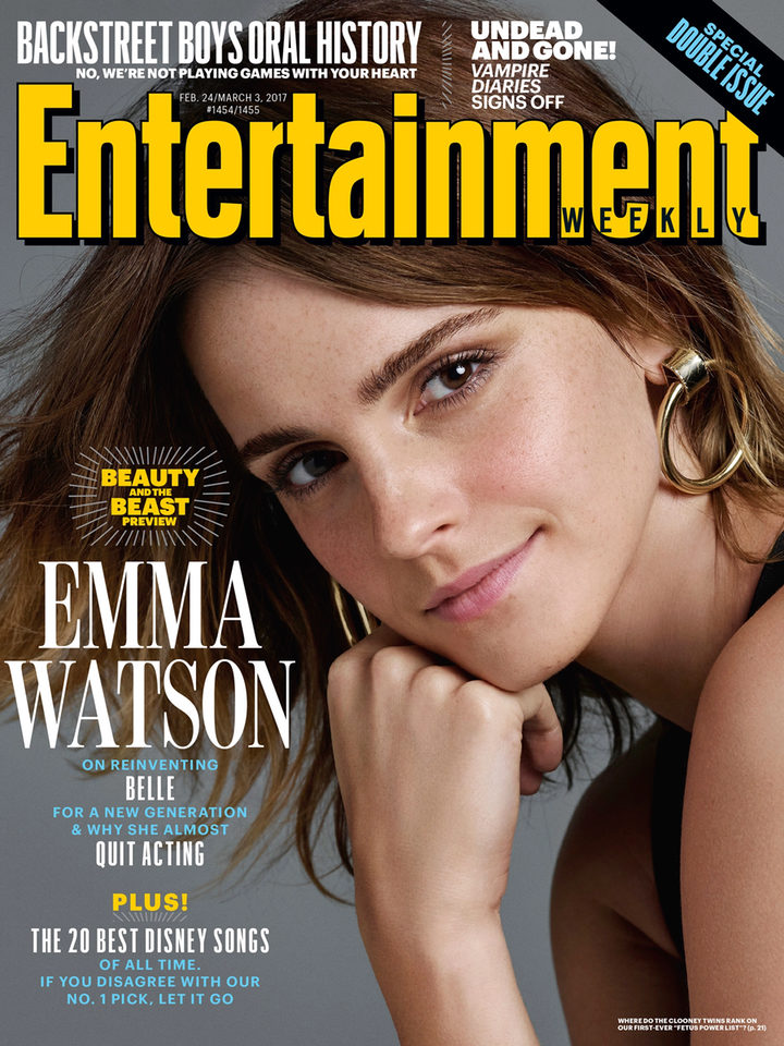Emma Watson en Entertainment Weekly