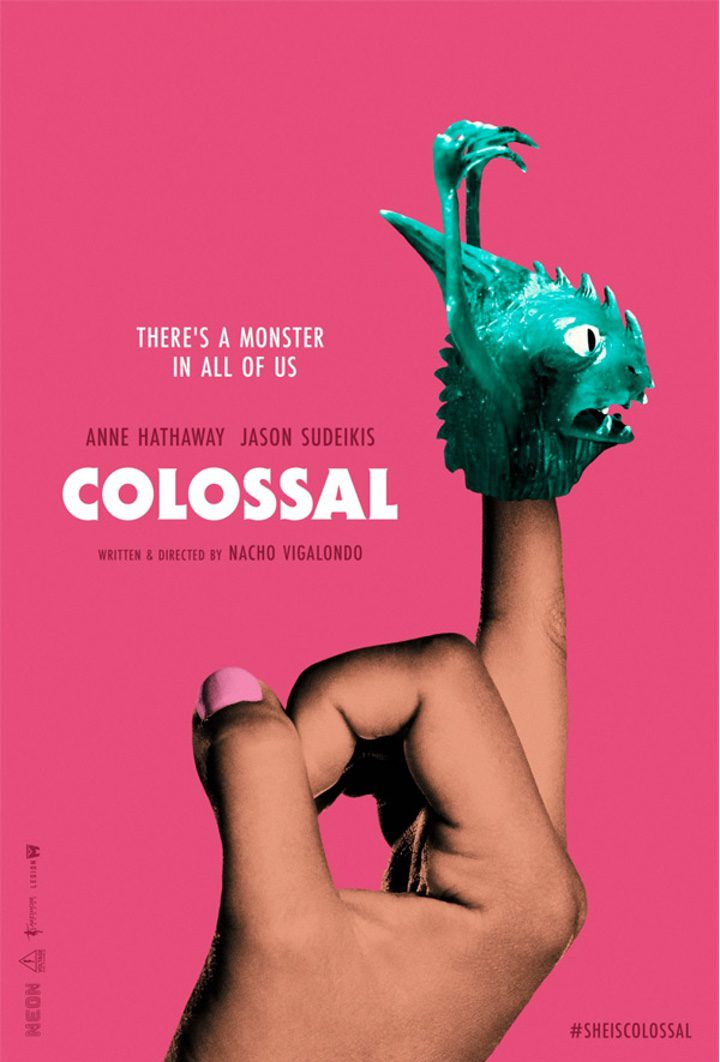 Poster oficial de Colossal