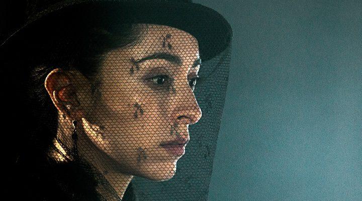 Oona Chaplin como su personaje, Zilpha, en 'Taboo'